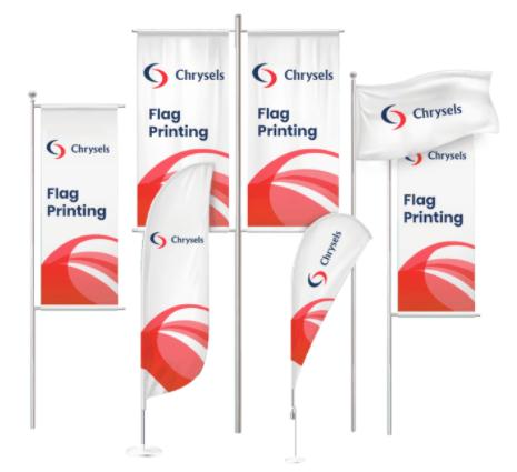 Flag printing dubai