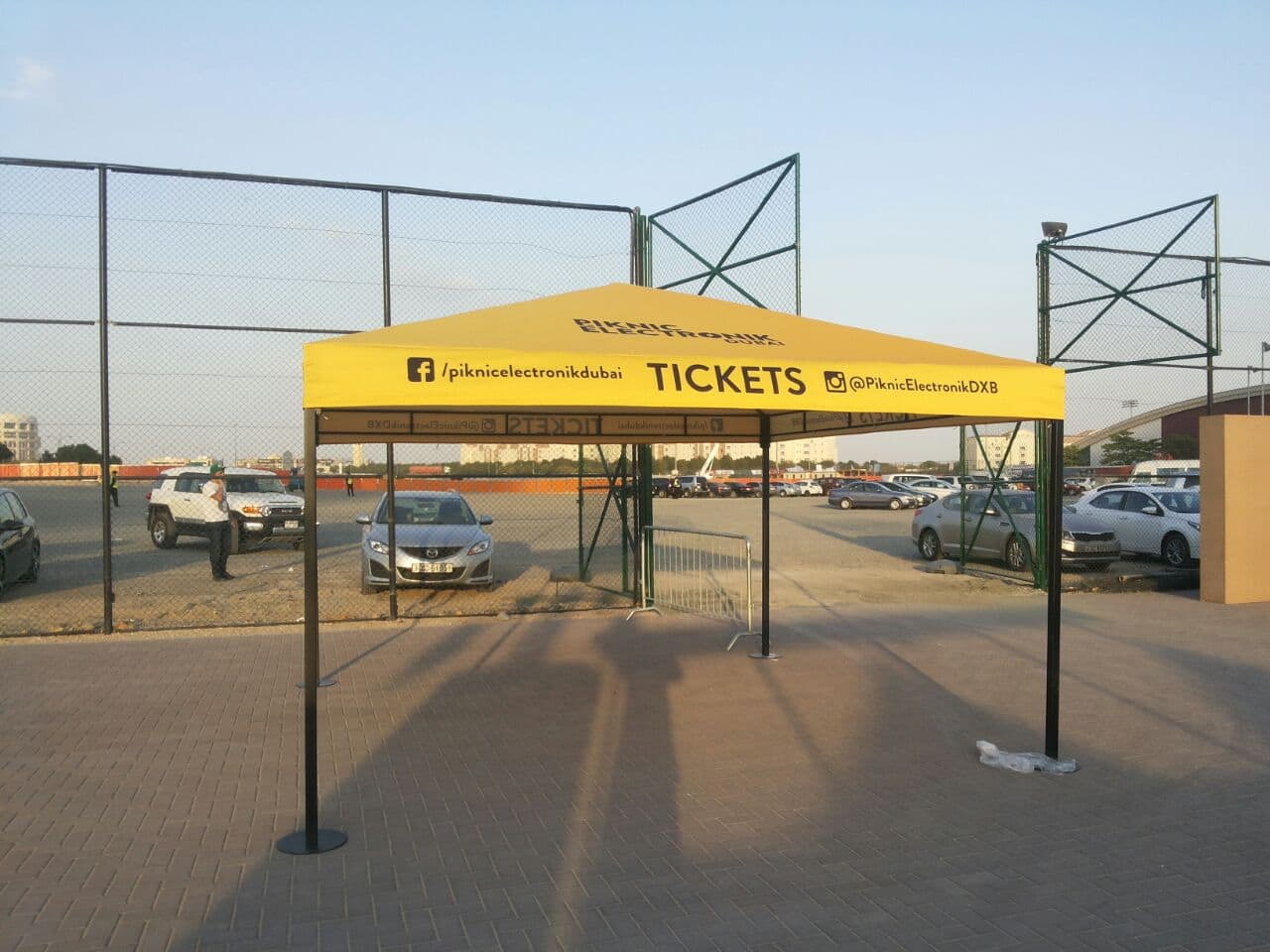 yellow-advertising-tent