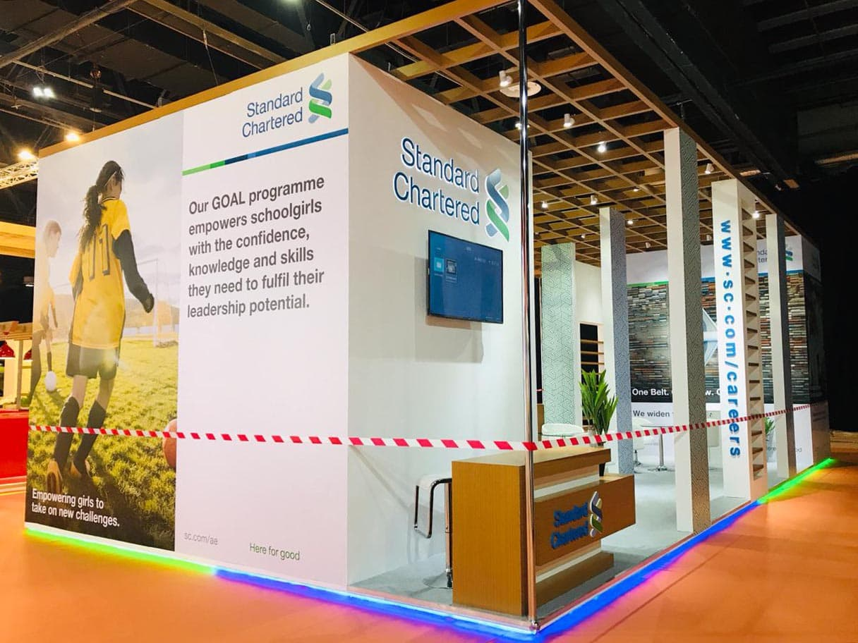 large Exhibition Stand