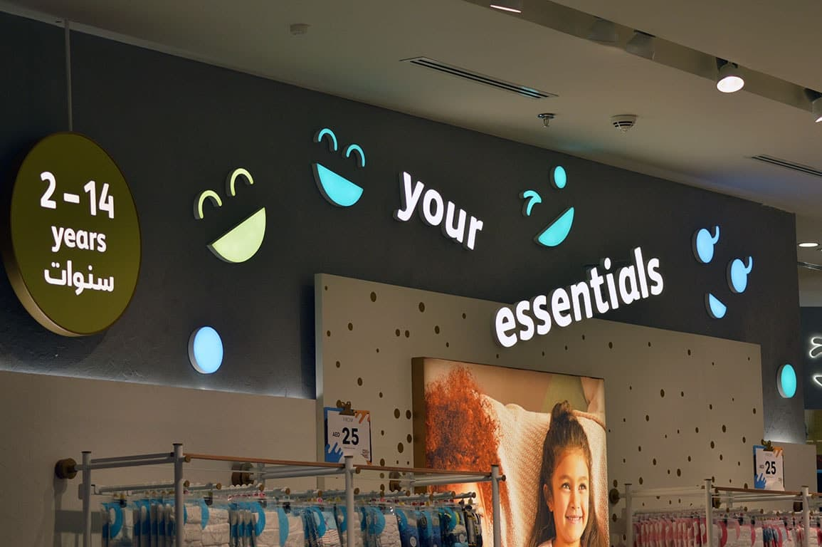 Retail Store Signage 2